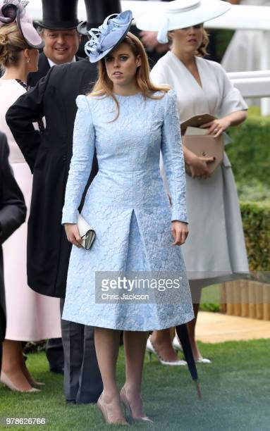 Princess Beatrice of York attends Royal Ascot Day 1 at Ascot Racecourse on June 19 2018 in Ascot United Kingdom