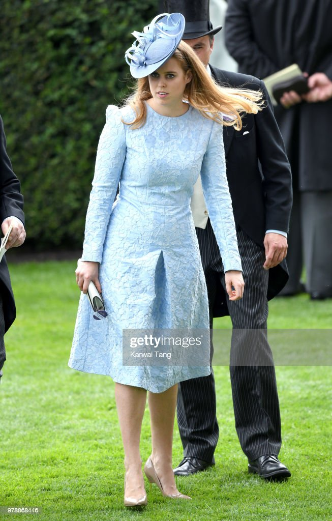 Princess Beatrice of York attends Royal Ascot Day 1 at Ascot Racecourse on June 19, 2018 in Ascot, United Kingdom.