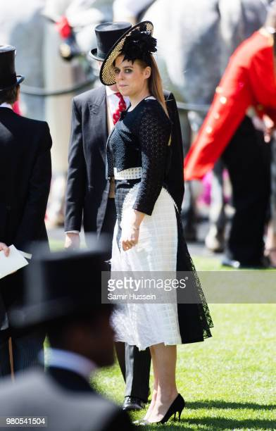Princess Beatrice of York attends Royal Ascot Day 3 at Ascot Racecourse on June 21 2018 in Ascot United Kingdom
