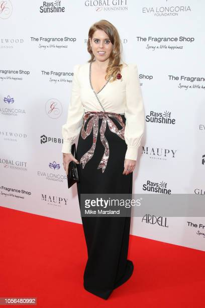 H Princess Beatrice of York attends The 9th Annual Global Gift Gala held at The Rosewood Hotel on November 2 2018 in London England