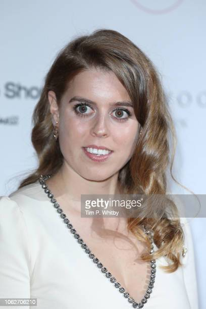 Princess Beatrice of York attends The 9th Annual Global Gift Gala held at The Rosewood Hotel on November 02 2018 in London England