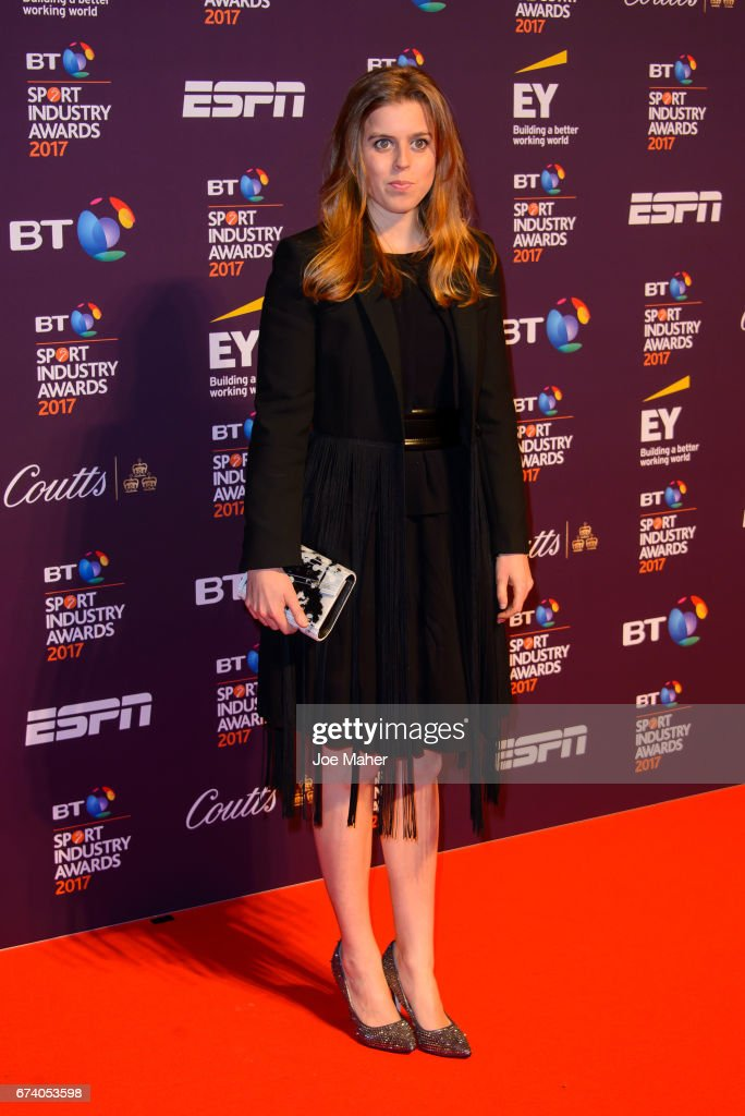 Princess Beatrice of York attends the BT Sport Industry Awards at Battersea Evolution on April 27, 2017 in London, England.