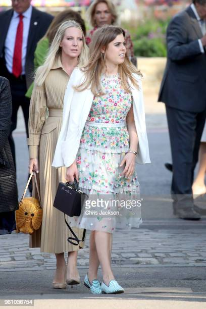 Princess Beatrice of York attends the Chelsea Flower Show 2018 on May 21 2018 in London England