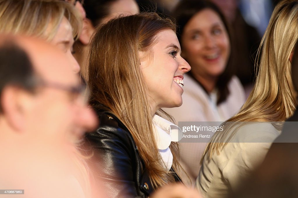 Princess Beatrice of York attends the Conde' Nast International Luxury Conference at Palazzo Vecchio on April 22, 2015 in Florence, Italy.