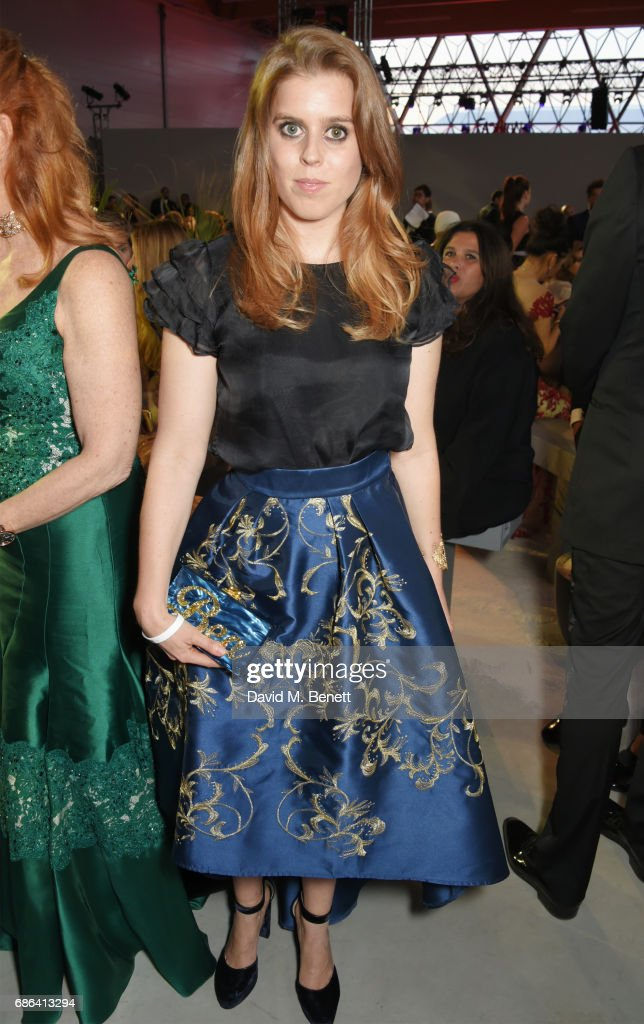 Princess Beatrice of York attends the Fashion for Relief event during the 70th annual Cannes Film Festival at Aeroport Cannes Mandelieu on May 21, 2017 in Cannes, France.