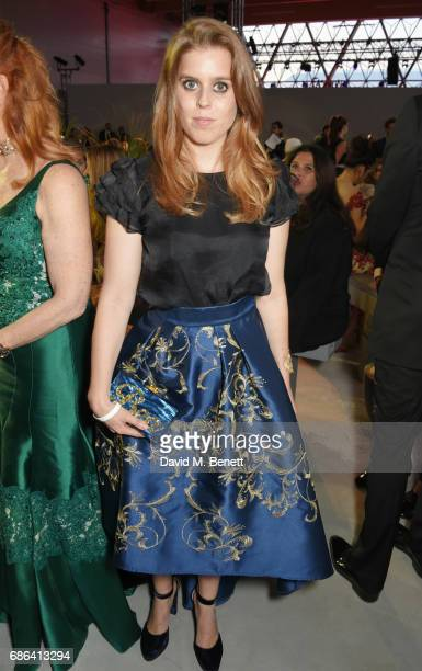 Princess Beatrice of York attends the Fashion for Relief event during the 70th annual Cannes Film Festival at Aeroport Cannes Mandelieu on May 21...