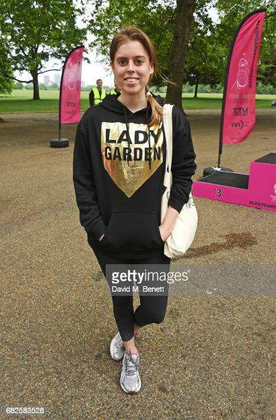 Princess Beatrice of York attends the Lady Garden 5K 10K Run in aid of Silent No More Gynaecological Cancer Fund in Hyde Park on May 13 2017 in...