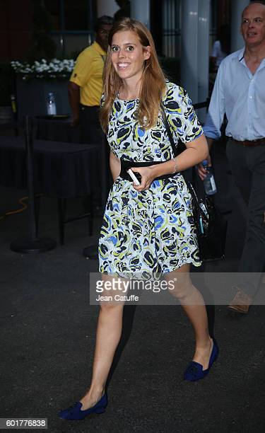 Princess Beatrice of York attends the men's semifinals at Arthur Ashe Stadium on day 12 of the 2016 US Open at USTA Billie Jean King National Tennis...