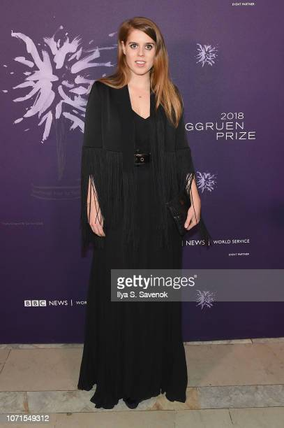 Princess Beatrice of York attends the Third Annual Berggruen Prize Gala at the New York Public Library on December 10 2018 in New York City
