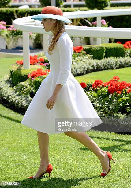Princess Beatrice of York on day 3 of Royal Ascot 2015 at Ascot racecourse on June 18 2015 in Ascot England