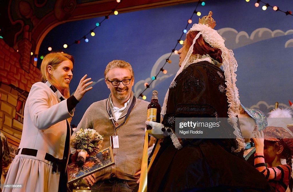 Princess Beatrice Visits The York Royal Theatre : News Photo
