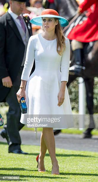Princess Beatrice on day 3 of Royal Ascot at Ascot Racecourse on June 18 2015 in Ascot England