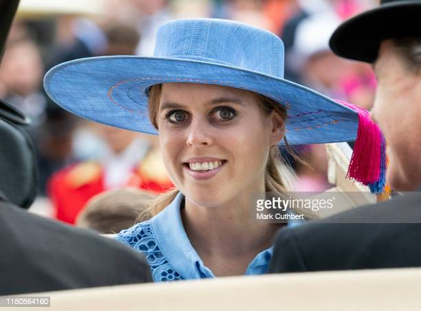 Princess Beatrice on day one of Royal Ascot at Ascot Racecourse on June 18 2019 in Ascot England