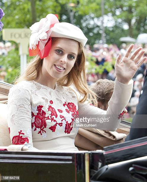 Princess Beatrice On The Third Day Of Royal Ascot
