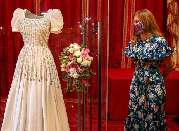 GBR: Princess Beatrice's Wedding Dress Goes On Display At Windsor Castle