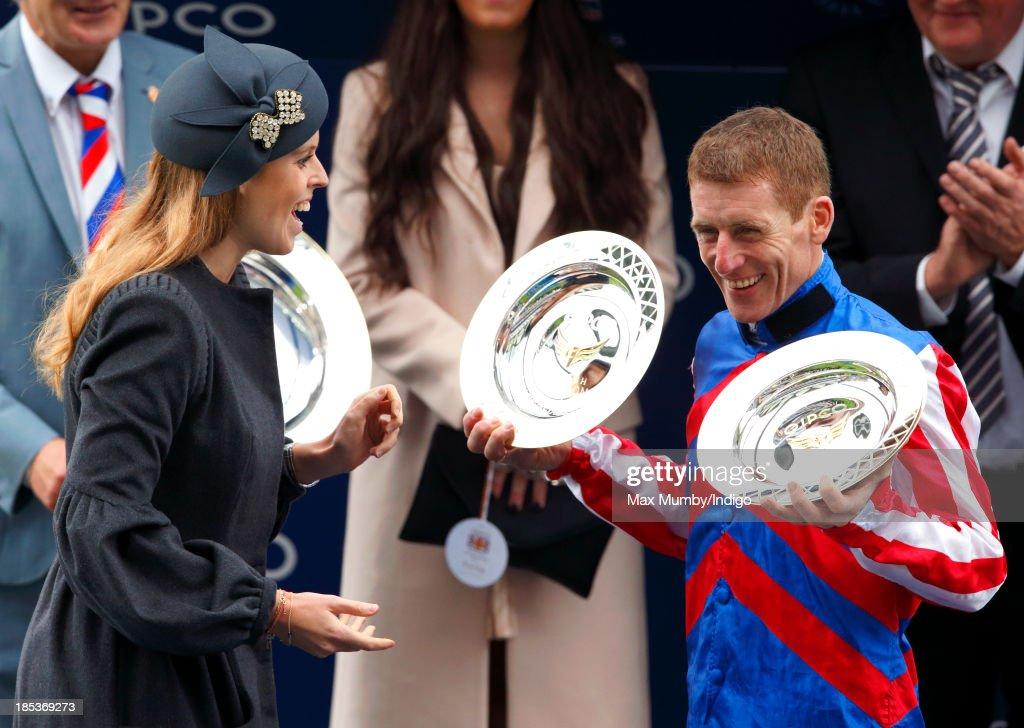 British Champions Day At Ascot Racecourse