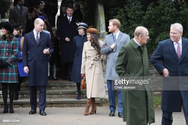 Princess Beatrice Princess Eugenie Princess Anne Princess Royal Prince Andrew Duke of York Prince William Duke of Cambridge Prince Philip Duke of...