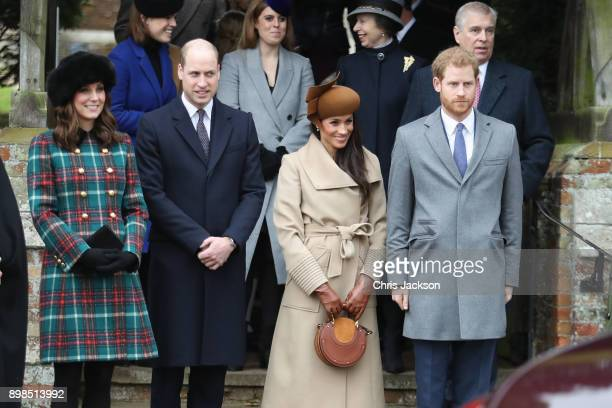 Princess Beatrice Princess Eugenie Princess Anne Princess Royal Prince Andrew Duke of York Prince William Duke of Cambridge Catherine Duchess of...