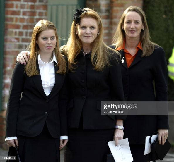 Princess Beatrice, The Duchess Of York Sarah Ferguson And
