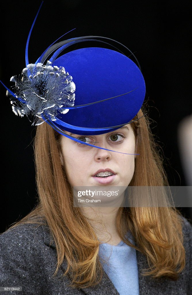 Beatrice Hat And Tooth Brace : News Photo