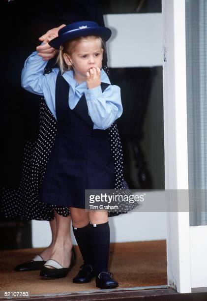 Princess Beatrice's First Day At Upton House Nursery School Windsor
