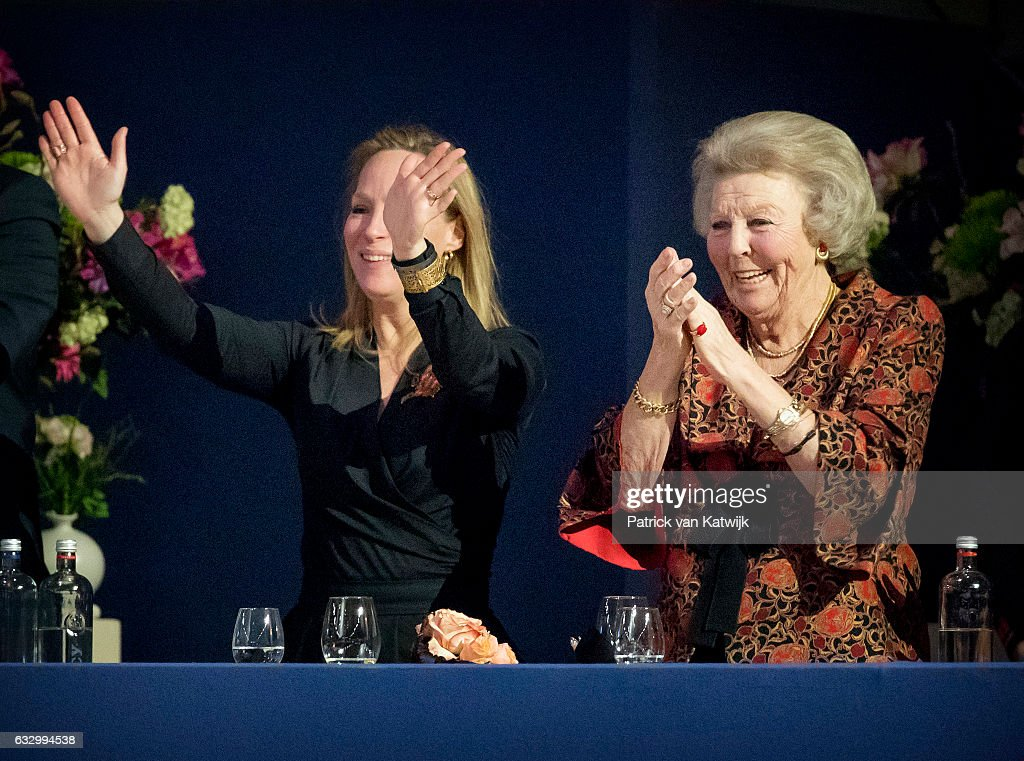 Princess Beatrix Of The Nederlands Attends The Amsterdam Jumping : News Photo