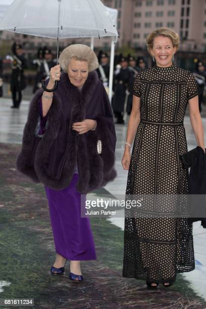 Princess Beatrix and Princess Mabel of OrangeNassau attend a Gala Banquet hosted by The Government at The Opera House as part of the Celebrations of...