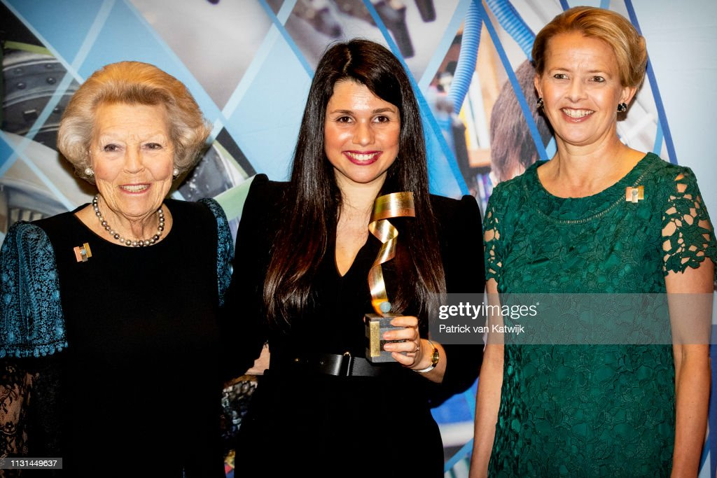 NLD: Princess Mabel Of The Netherlands And  Princess Beatrix Netherlands Attend The  Prince Friso Award In  Veldhoven