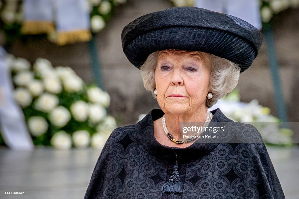 Funeral of Grand Duke Jean in Luxembourg 4 May : ニュース写真
