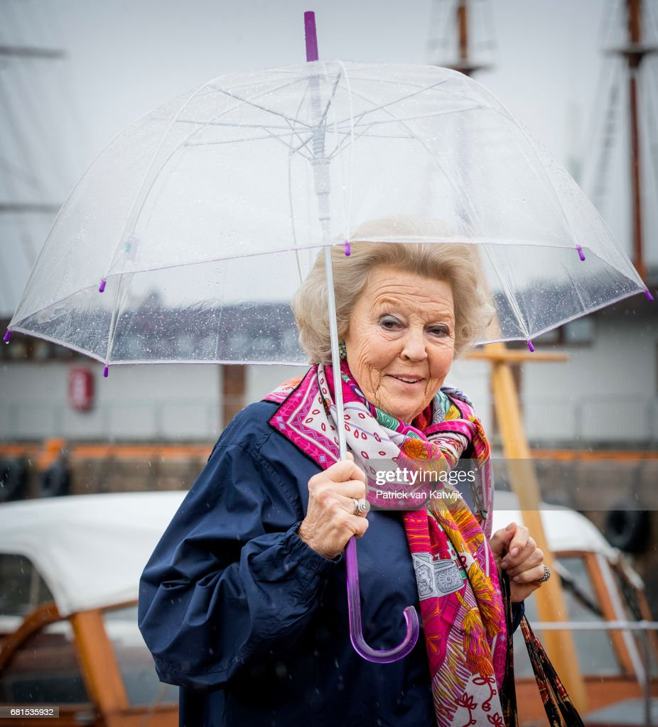 King and Queen Of Norway Celebrate Their 80th Birthdays - Lunch on the Royal Yacht - Day 2