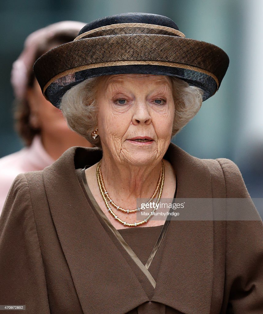 Princess Beatrix Of The Netherlands Marks 140th Anniversary Of King William Fund In London : News Photo