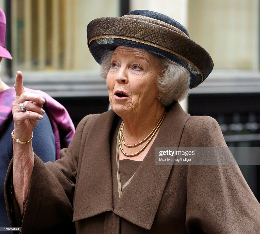 Princess Beatrix Of The Netherlands Marks 140th Anniversary Of King William Fund In London
