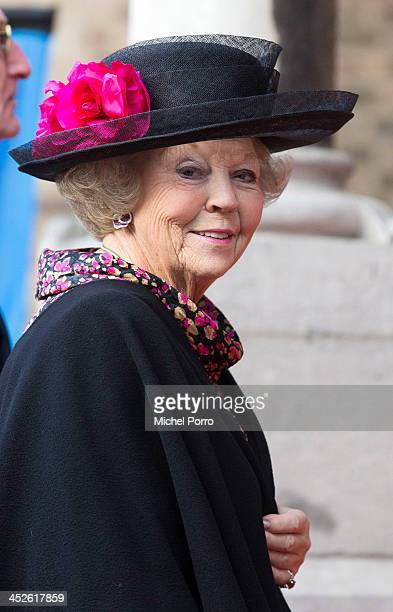 Princess Beatrix of The Netherlands attends the 200th anniversary celebrations of the Kingdom of The Netherlands at the Ridderzaal on November 30...