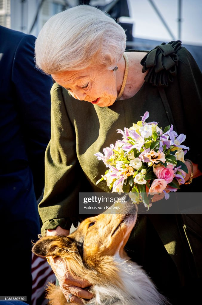 Princess Beatrix Of The Netherlands Attends The 65th Anniversary Of The Princess Beatrix Muscle Foundation In Baarn : News Photo