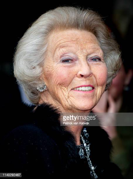 Princess Beatrix of The Netherlands attends the 80th birthday celebrations for Pieter van Vollenhoven on April 30 2019 in Zeist Netherlands