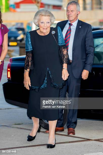 Princess Beatrix of The Netherlands attends the dance event Free to Move at the Zuiderstrandtheater on August 31 2017 in The Hague Netherlands The...