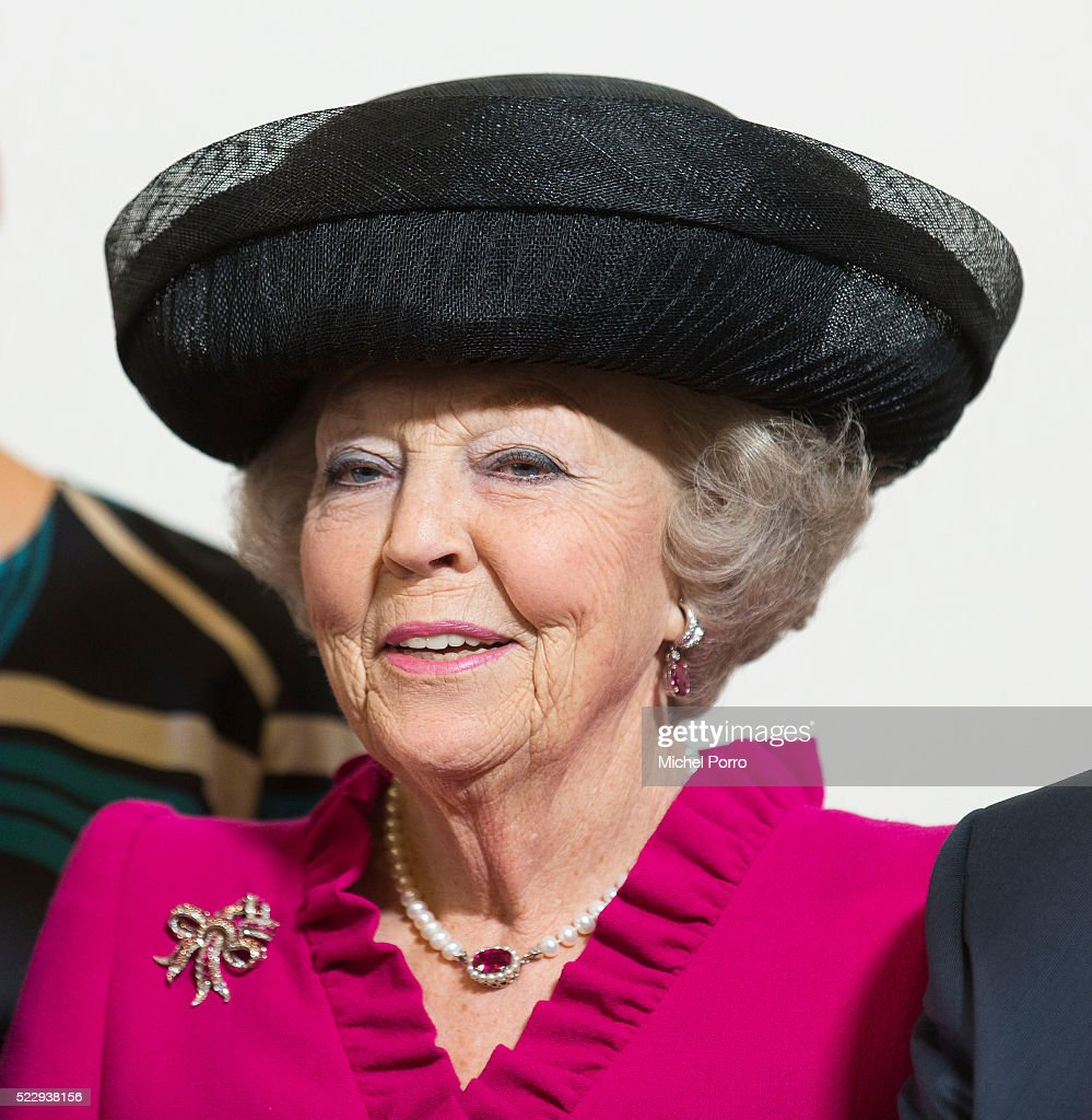 Princess Beatrix of The Netherlands attends the Four Freedoms Awards on April 21, 2016 in Middelburg Netherlands.