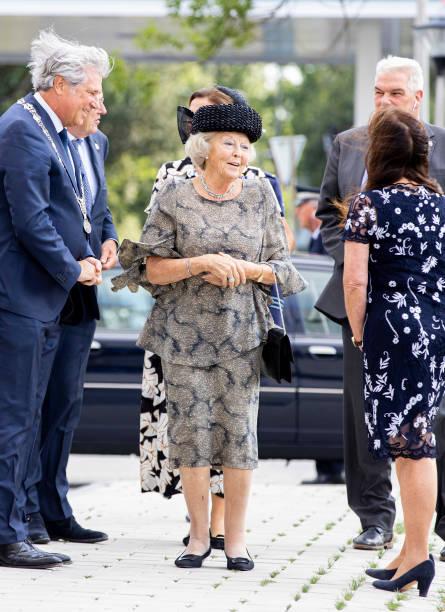 NLD: Princess Beatrix Of The Netherlands Opens Care House Fier In Capelle Aan Den IJssel