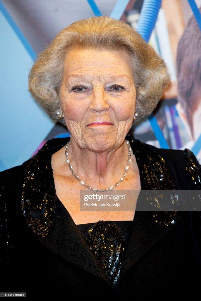 Princess Mabel And Princess Beatrix At Prince Friso Award In Delft : News Photo