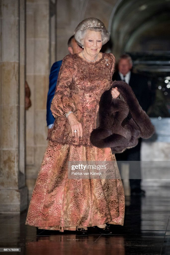 Royal Family Of The Netherlands Attends Gala Diplomatic Corps Gala Diplomatique At the Royal Palace In Amsterdam