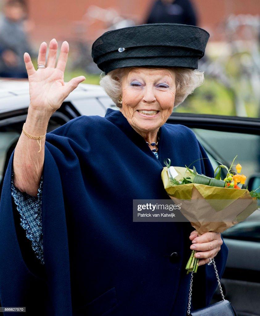 Princess Beatrix Opens Cultural Center Zinder In  Tiel