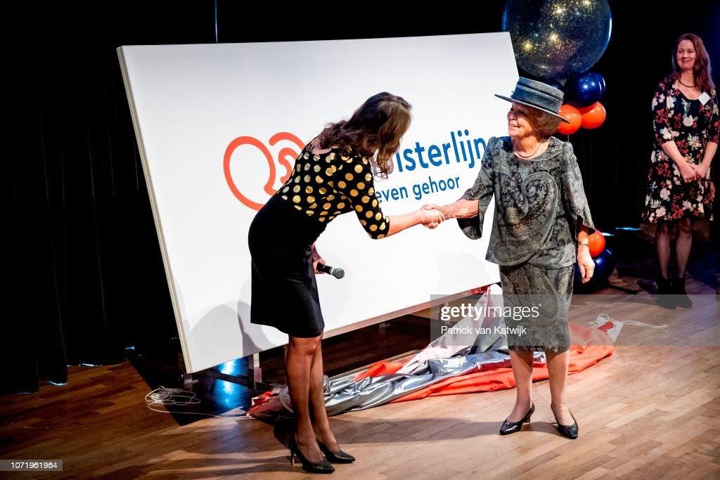 Princess Beatrix presents new name Sensoor : News Photo