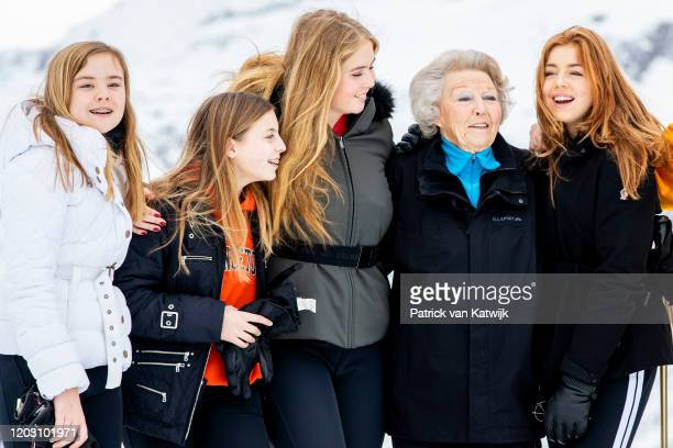 Princess Beatrix of The Netherlands Princess Amalia of The Netherlands Princess Alexia of The Netherlands Princess Ariane of The Netherlands and...