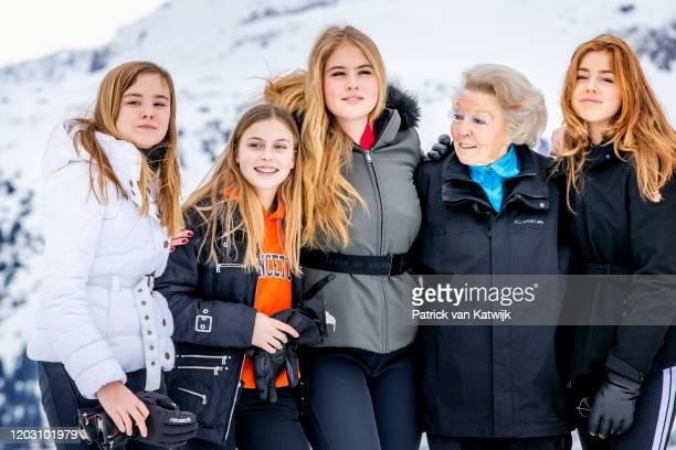 Princess Beatrix of The Netherlands Princess Amalia of The Netherlands Princess Alexia of The Netherlands Princess Ariane of The Netherlands Countess...