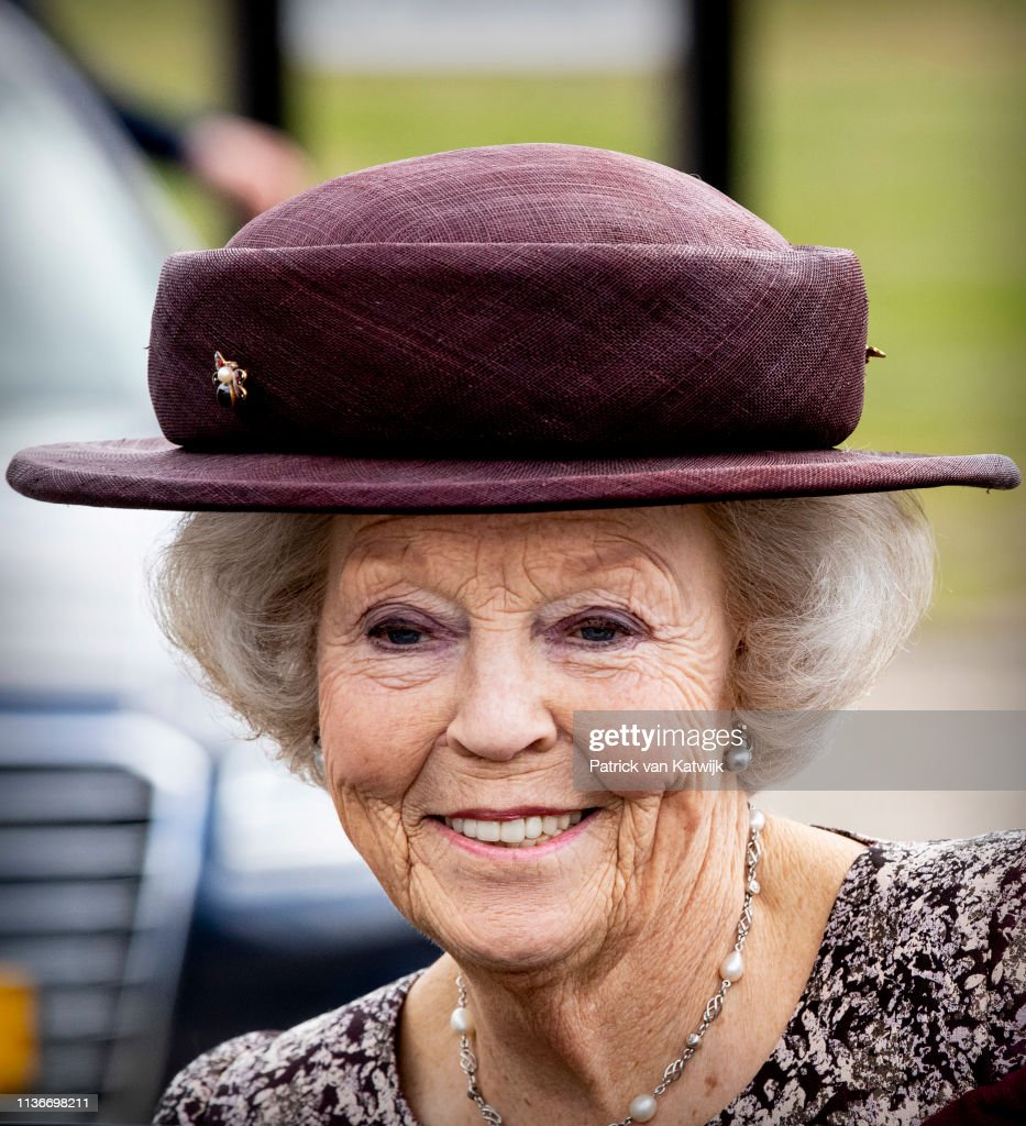 Princess Beatrix Of The Netherlands Attends The Presentation Art Ad Dekkers In Bergeijk : News Photo