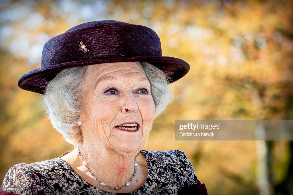 NLD: Princess Beatrix Of The Netherlands Attends The Presentation Art Ad Dekkers In Bergeijk