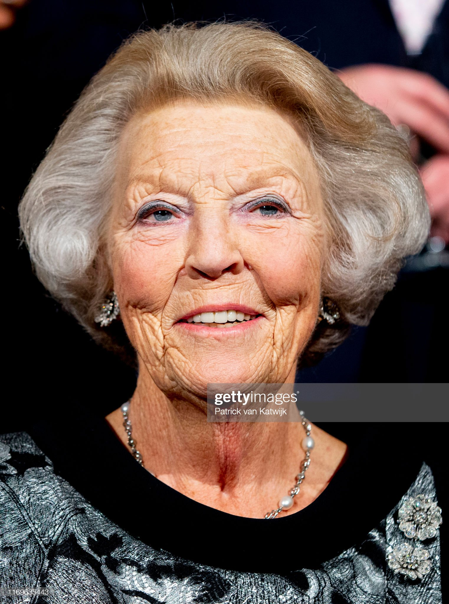 Princess Beatrix Of The Netherlands Visits Alvin Aley American Dance Performance in Rotterdam : News Photo