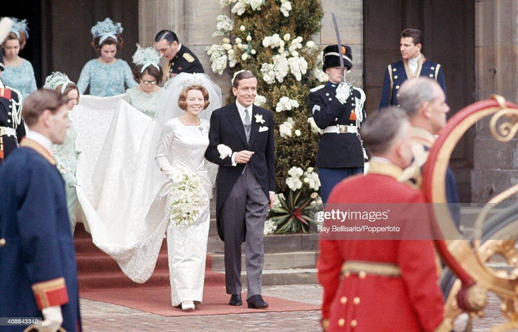 Dutch Royal Wedding : News Photo