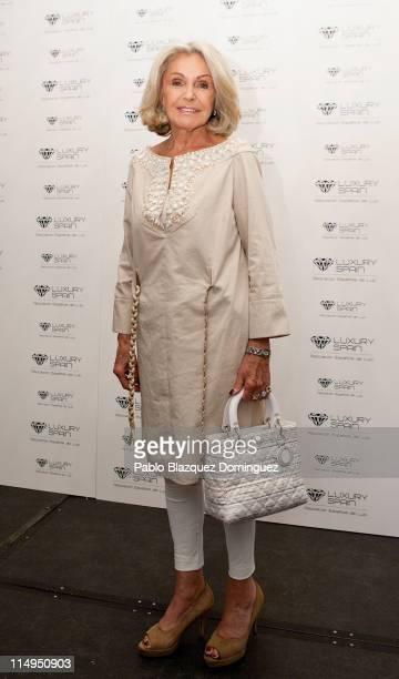 Princess Beatriz de Orleans presents the 'Spanish Luxury Association' at Hotel Villa Magna on May 31 2011 in Madrid Spain