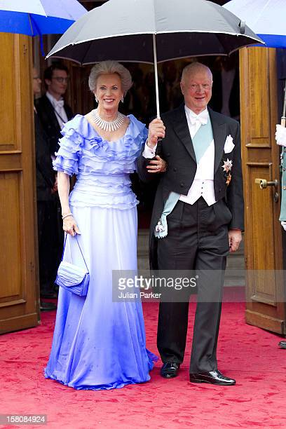 Princess Benedicte And Prince Richard Of Denmark Attend The Wedding Of Princess Nathalie Of SaynWittgenstein Berleburg To Alexander Johannsmann At...